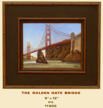 Golden Gate by Anthony Bacon Venti